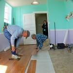laminate flooring over tile