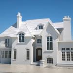 3D printed model home