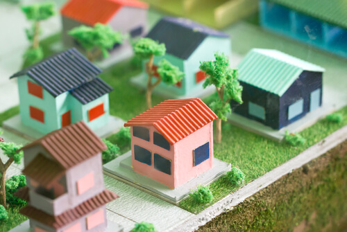 tiny home neighborhood model