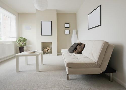 spacious lounge living area