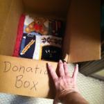 donation box consigment