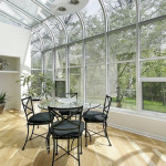 sunroom wood flooring