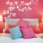 bedroom wall mural art