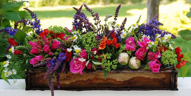DIY flower box