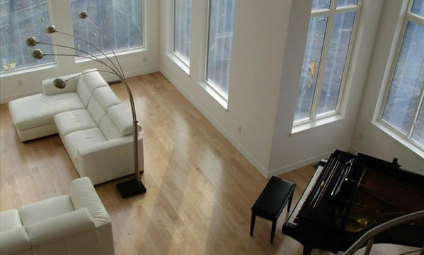 maple hardwood floors contemporary