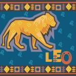 astrological sign Leo illustration