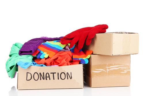 donation box clothes