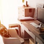 home office vintage filter