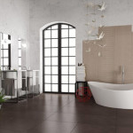 Alzatina Ceramic Wall Tile - Champs Elysees Collection Light Gray Fumo