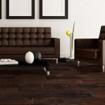 acacia hardwood flooring living room scene