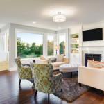 large living room wood floors