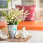 artificial house plants flower arrangement