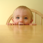 Toddler in the kitchen