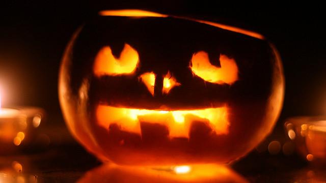 jack o lantern heart aglow