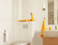 Porcelain wall tile bathroom best-ashbury-white-ripple-glossy