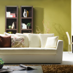 new living room white sofa rug coffee table