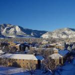 Boulder CO university flatirons