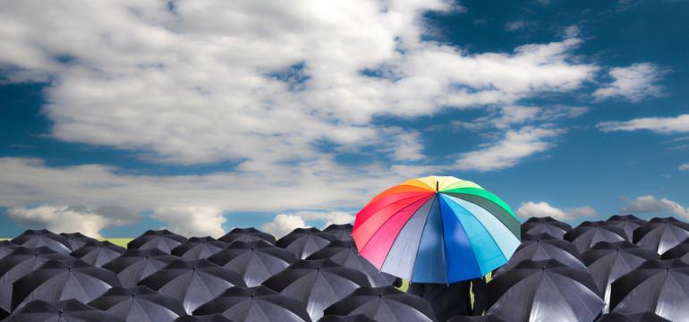 different non conformist umbrella