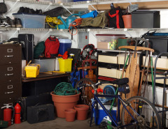 busy garage storage