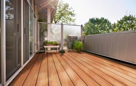 Pravol Composite Decking - Comfort Plus PVC Decking