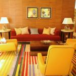 living room warm colors