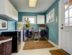 laundry room ideas decor cabinets modern