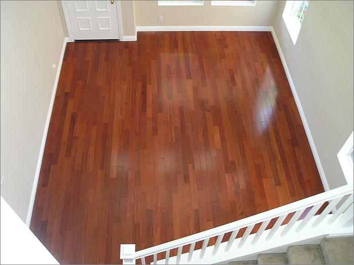 Aluminum Oxide Finish And Wood Floors
