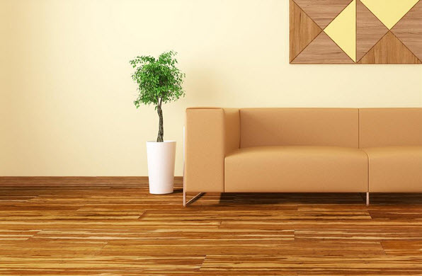 tiger strand woven bamboo living room