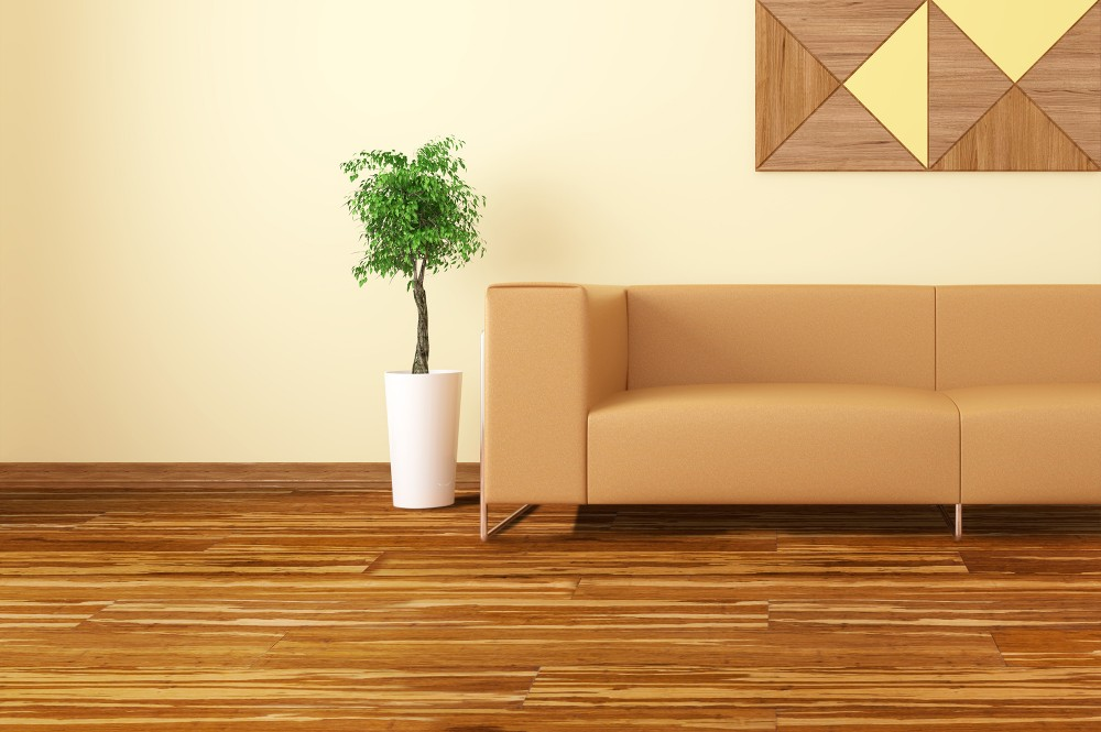 Light Tiger Stripe Bamboo Flooring