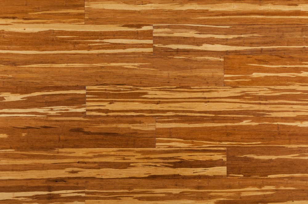 Light Tiger Stripe Bamboo Flooring. ""