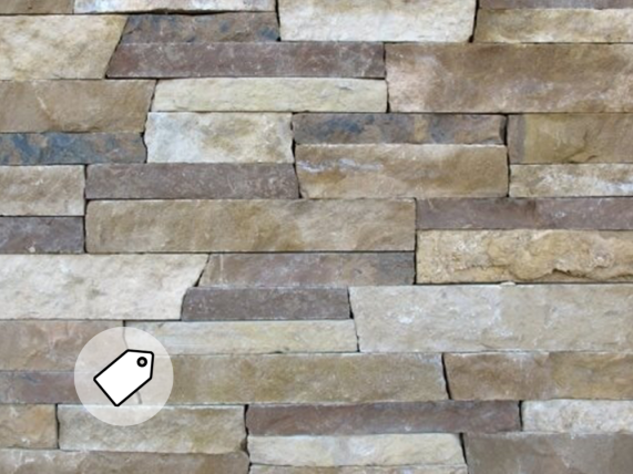 The Quarry Mill  Natural Quarried Thin Cut Stone Veneer / SKU: 15197722