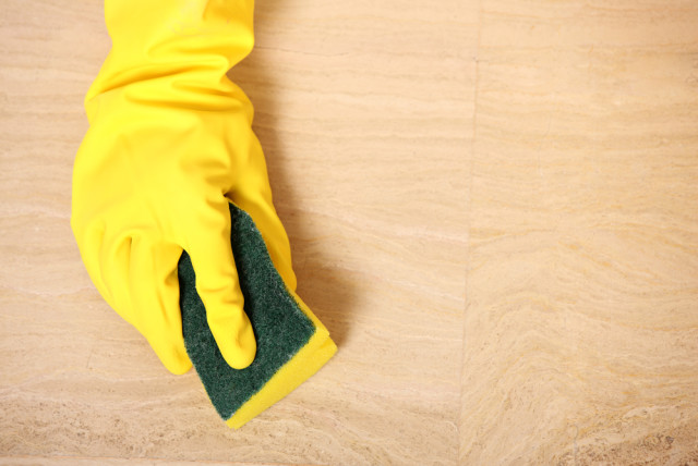 wood floor spot cleaning