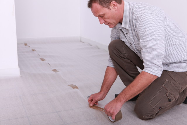 laminate flooring underlay installation