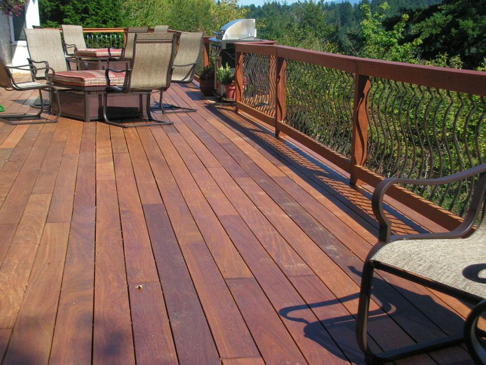 Backyard Wood Deck preserving your wood deck in springtime