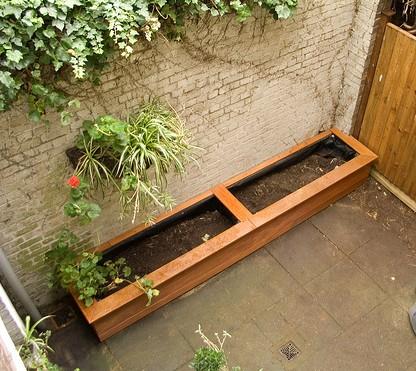 Superieur Backyard Wood Garden Planters