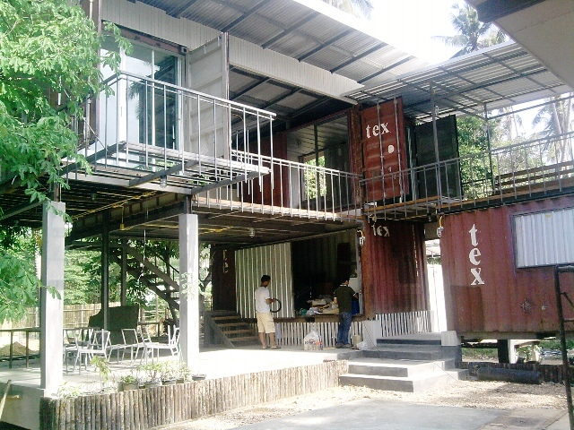 Krabi province, Thailand Shipping Container Home