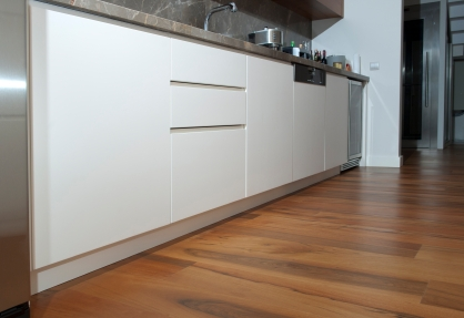 unlike wood - Laminate Flooring In A Kitchen