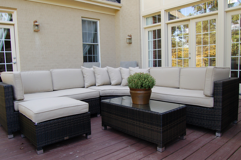 Cool Backyard Ideas to Enhance Your Outdoor Living ... on Living Spaces Outdoor Sectional id=28800