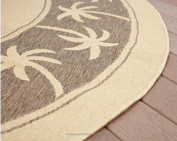 Outdoor rooms outdoor area rugs for Water resistant outdoor rug