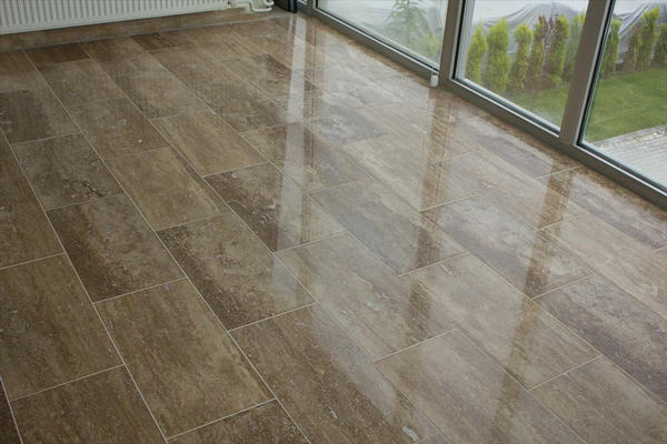 Travertine Tile Puts The Tile In Versatile