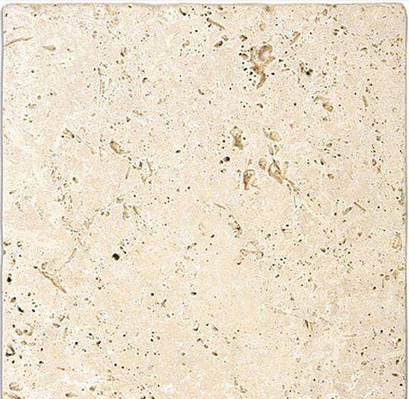Travertine Tile Texture Throughout Design