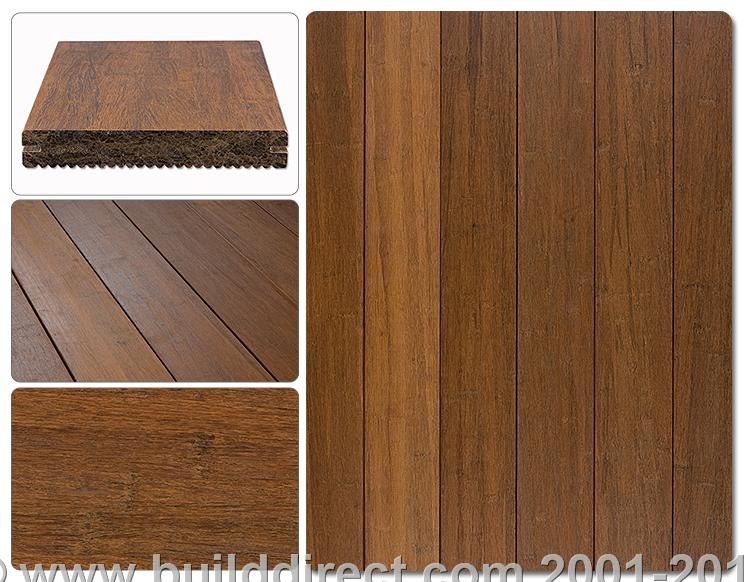 Strand Woven Bamboo Decking: Walking On The GrassBuildDirect