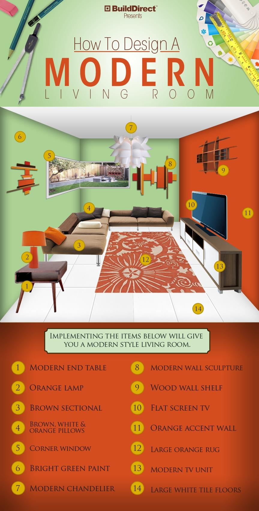 mid century modern living room design ideas mid century room design 2 BuildDirect