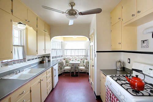 48s Design Eclectic And Comfortable Interesting 1930S Kitchen Design