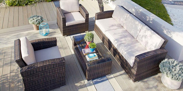outdoor conversation set fire pit clearance sets with ottomans patio furniture rooms