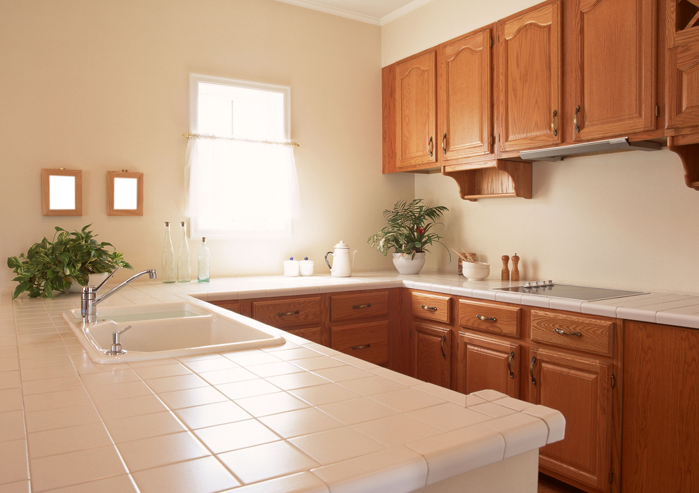 Small Kitchen Uncluttered Counters