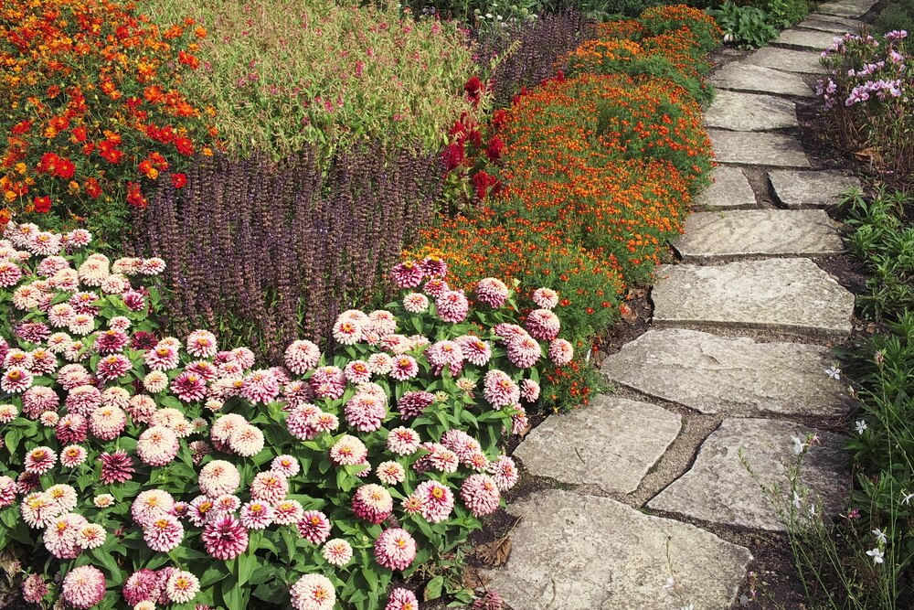 Fall Garden Ideas Part - 33: Autumn Garden Paver Path