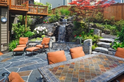 Slate Pavers And Patio Furniture