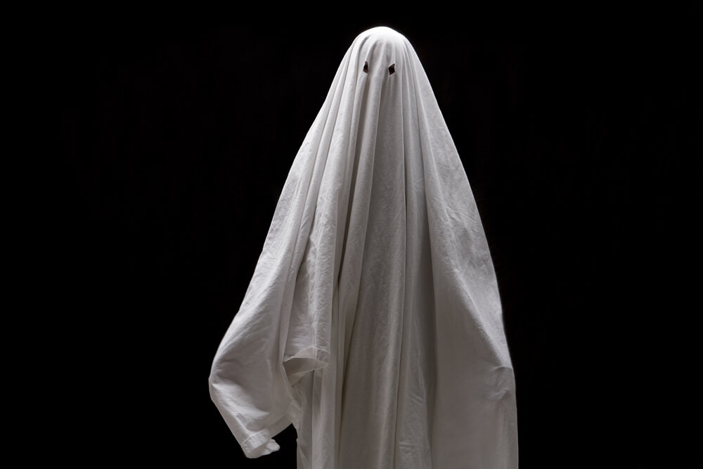 Ghost Costume Bed Sheet