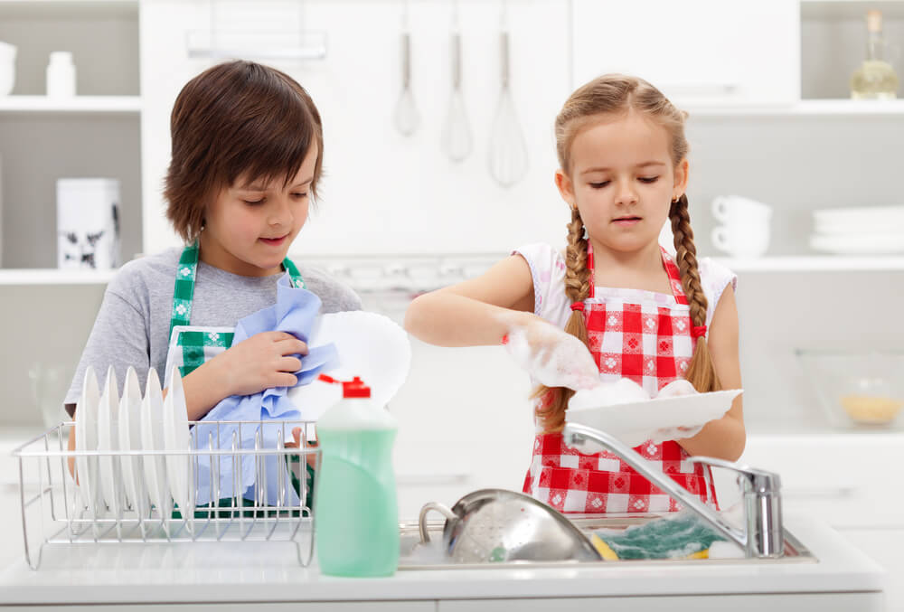 Image result for kids do chores